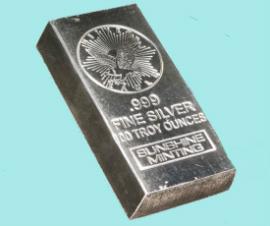 100oz Silver Bar