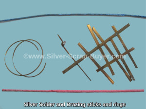 Silver Solder and Brazing sticks and rings